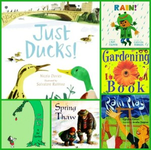 Ducks, Rain and Gardening: Spring Reading