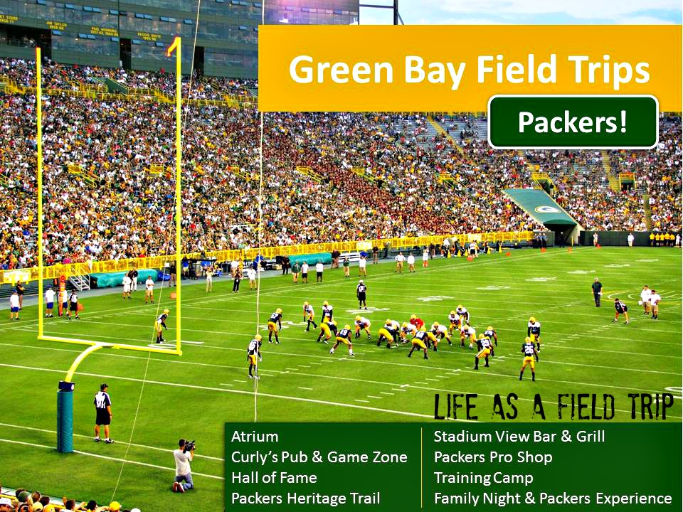 Green Bay Packers tourism field trips
