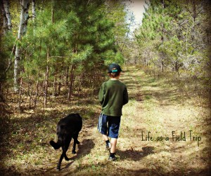 Wordless Wednesday- A Boy and His Dog