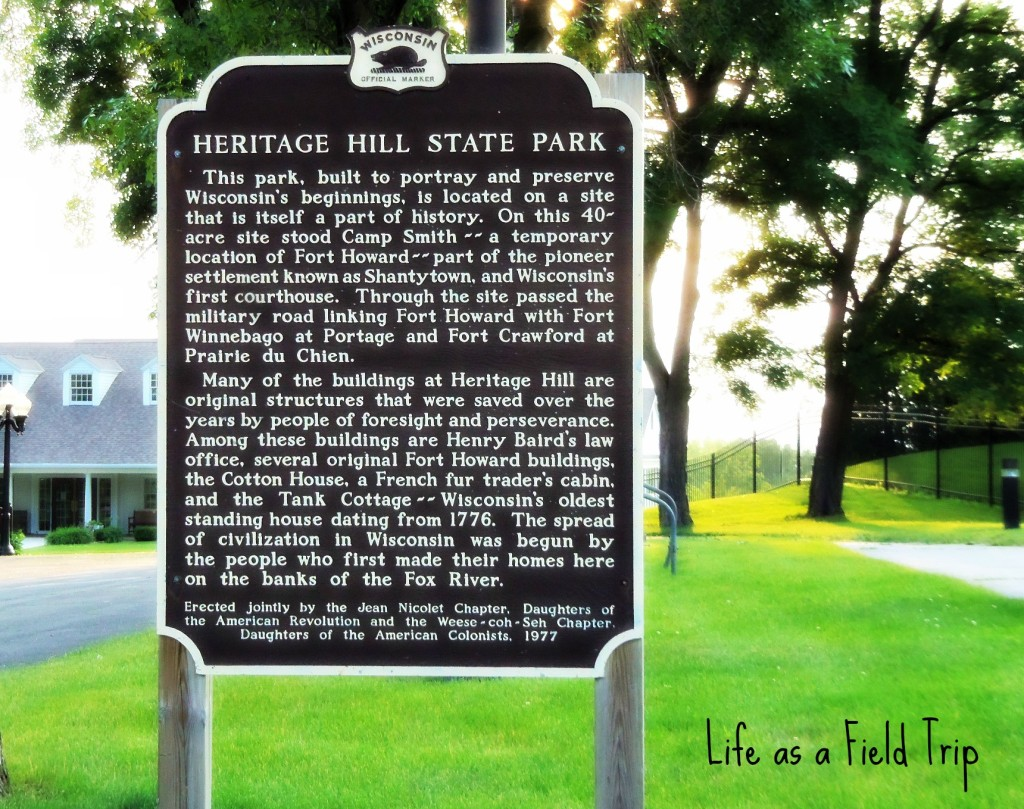 Heritage Hill Green Bay, WI