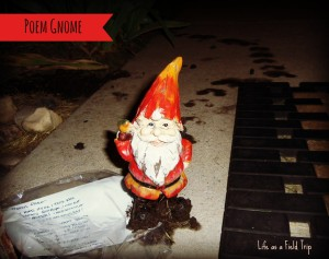 The Poem Gnome Gets Muddy