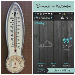 Summer in Wisconsin…Brrr!