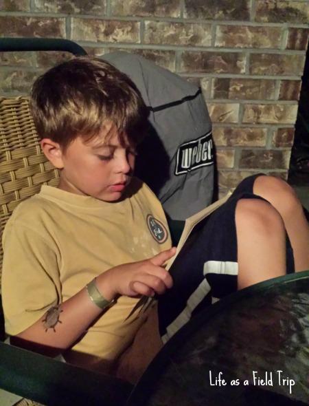 Reading by Moonlight Magic Treehouse