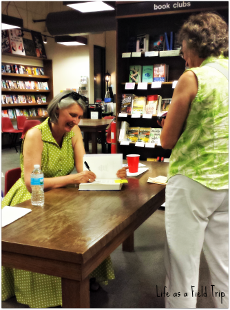 Louise Penny book signing at Boswell Book Company