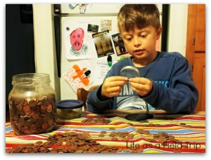 Wordless Wednesday: Grandpa's Pennies