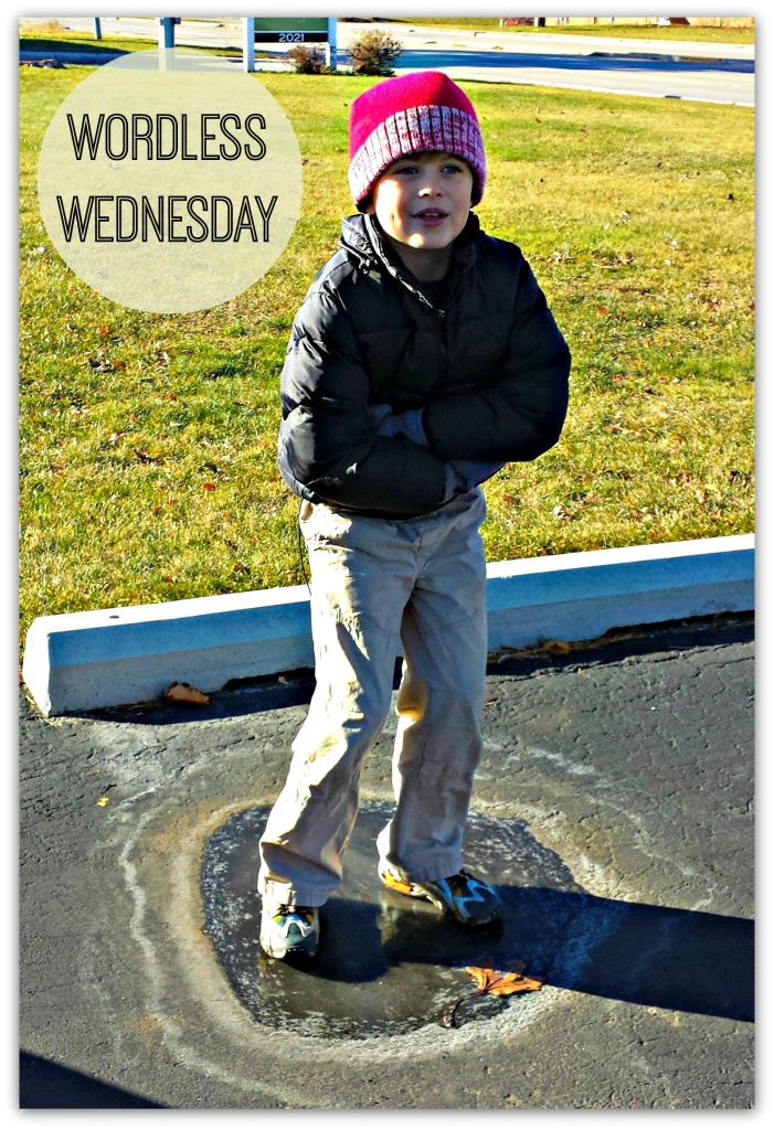 Wordless Wednesday on Ice