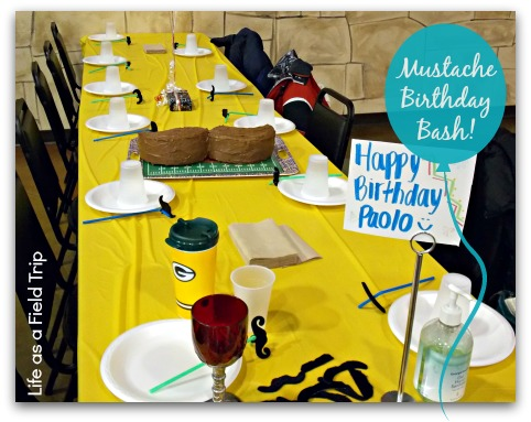 Mustache Birthday Bash | LIfe as a Field Trip