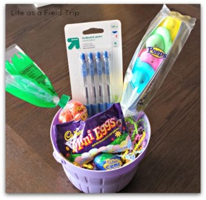 Easter Bunny Basket {Life as a Field Trip}
