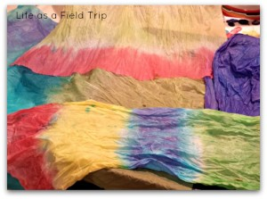Easter Egg Dye napkins 2 {Life as a Field Trip}