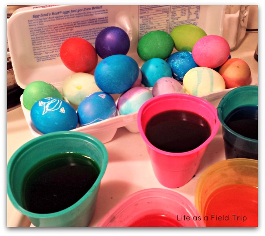 Easter Eggs {Life as a Field Trip}