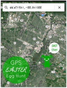 GPS Easter Egg Hunt