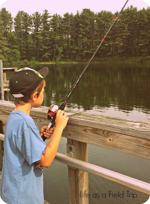 Hartman-Creek-Scout-Allen-Lake-Fishing
