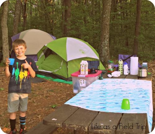 Hartman Creek Scout Camping campsite