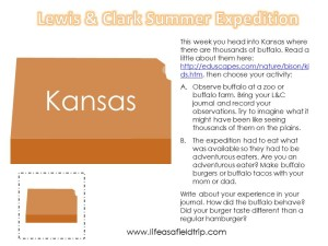 Lewis & Clark Summer Expedition: Week Two