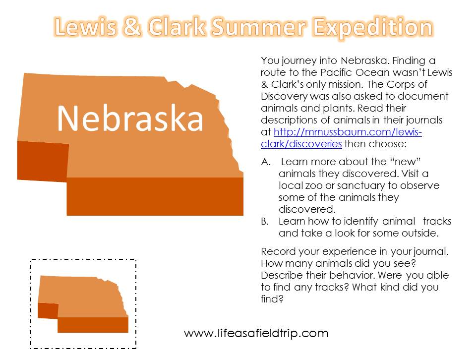 Lewis and Clark Summer Expedition Week Three: Nebraska | Life as a Field Trip