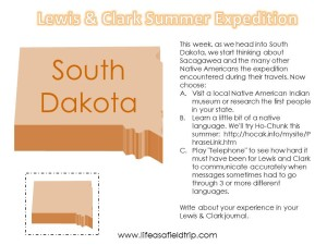 Lewis & Clark Summer Expedition: Week Five