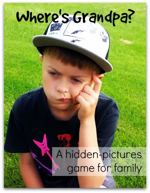 Where's Grandpa: A Hidden pictures game for family | Life as a Field Trip