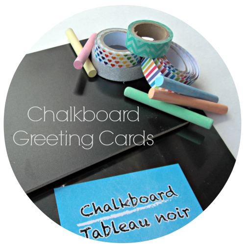 Chalkboard Greeting Cards {Life as a Field Trip}