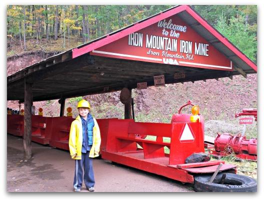 Iron Mountain Iron Mine Life as a Field Trip 12