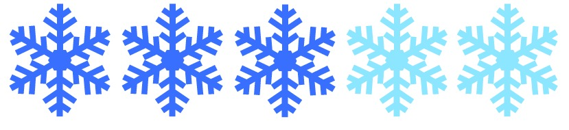 How adventurous are you? This outing is 3 snowflakes, 0 being a Winter Wimp, 10 being the Snow Queen.