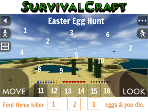 SurvivalCraft Easter Egg Challenge