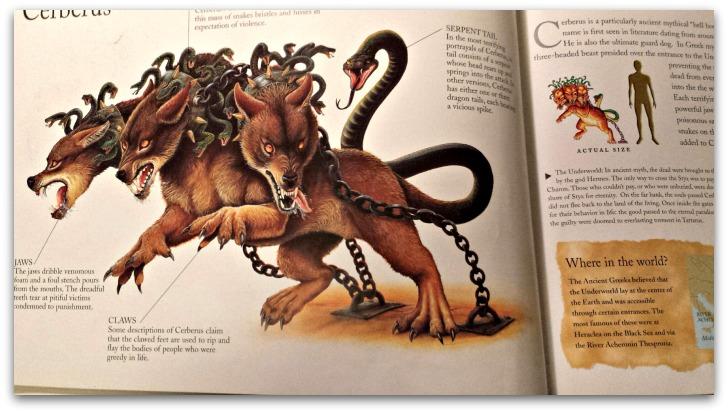 Cerberus Mythological Monsters Book