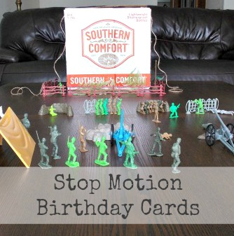 DIY Stop Motion Birthday Cards