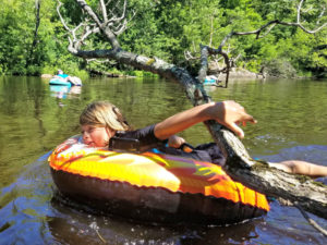 Summer Field Trip: River Tubing
