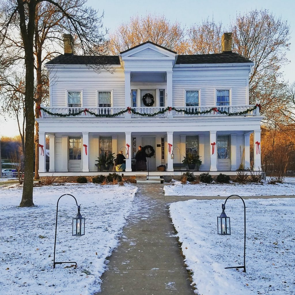 Christmas at Grignon Mansion
